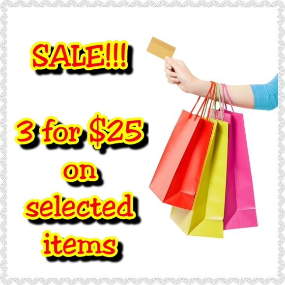 Multiple Other - 3 for $25 Inventory Clear Out SALE!!!!!